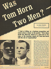 Tom Horn Trial - Was He Two Men + Judge Kennedy,Judge Scott*,Lefors,Cahill,Stoll