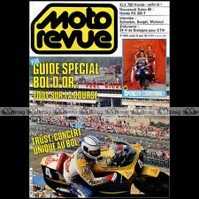 MOTO REVUE N°2620 HONDA XLV 750 TRUST BERNIE GRAND PRIX SAN MARIN BOL D'OR 1983