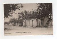 Algérie - MONTGOLFIER - Une rue  (J856)