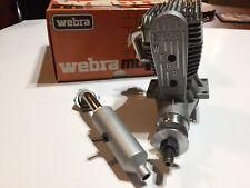 Very RARE Webra T4-60 RC Airplane Engine / Belt Drive  circa @1983