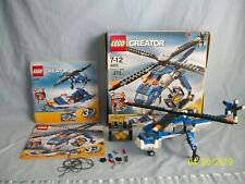Lego Set 4995 Cargo Copter CREATOR 3-1 w/ instructions & BOX 100% complete