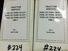 Case IH OEM Puma 130 145 160 CVT Tier 4, 2  volumes service repair manual