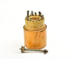 Uhrmacher BOHRER MIT BOHRERHALTER altes Uhrmacherwerkzeug Uhr watchmaker tool