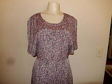 BCBG Generation Sz 12 Abstract Pattern Multi color Open Back Above knee Dress