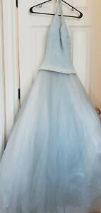 Cinderella, Dress, Blue Gown, Cosplay, Princess, Halloween Size 4 Adult