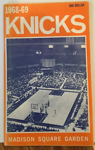 1968 – 1969 New York Knicks NBA Basketball Press Media Guide Yearbook