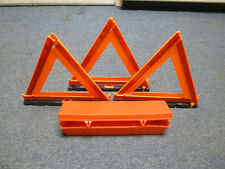 Sate-Lite 798  - Early Warning Road Safety Triangle Triple Kit