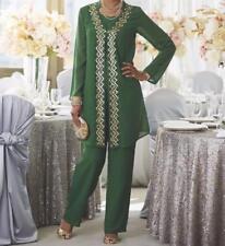 Bridesmaid Mother of Bride Groom Women's wedding evening pant suit plus 24W 3X
