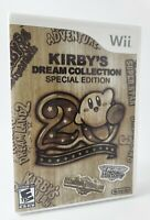 Kirby's Dream Collection: Special Edition Nintendo Wii Complete CIB