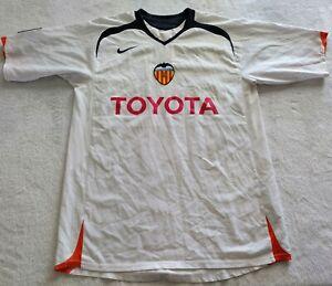 2004 Valencia Home Football Shirt