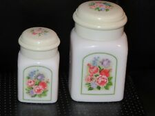 Discounted Vintage Avon Country Garden Elusive Beauty Dust & Powder Sachet Jars