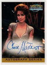 STAR TREK DS9 MFTF CHASE MASTERSON AS LEETA A20 AUTOGRAPH CARD SKYBOX 1999