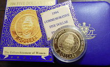 1994 Womans Vote  Proof $5 Coin C