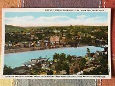 Bird's Eye View Brownville, Pennsylvania