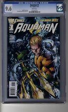 Aquaman (2011) # 1 - CGC 9.6 White Pages - Ivan Reis Cover - Mera & Pandora App