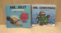 x 2 Mr Men Books With Added  Sparkle By Roger Hargreaves