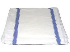 10 X Grande Azul y blanco calidad 100% Algodón Cocina Cristal Paños /