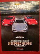 SPORT AUTO 12/2014 Porsche 918 959 Carrera GT Aston Martin V12 Ariel Subaru WRX