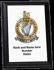 Personalised Wall Plaque - The Queen's Royal Irish Hussars