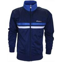Ellesse Men Track Top Jacket Navy Blue White Triora XS Logo New RRP £65