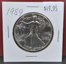 1989 Silver American Eagle BU 1 oz US $ 1 Dollar Mint Brilliant Uncirculated $49