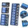 5V for Arduino PiC ARM AVR 1/2/4/6/8 Channel Relay Board Module Optocoupler LED