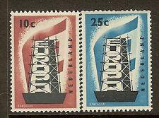 Netherlands, Scott #'s 368-369, Europa, MNH