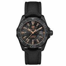 Tag Heuer WBD218A.FC6445 Aquaracer Para Hombre De Reloj De Nylon Negro