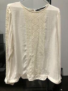 Zara blouse Sz XL