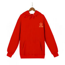 New Arrival Letter Printing Fashion Hoodies - Red