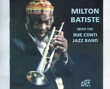 CD MILTON BATISTE with the RUE CONTI JAZZ BAND uk EX