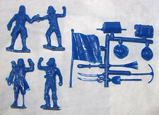 MPC  reissue ring hand pirates with accessories in BLUE   arrgh toy soldiers