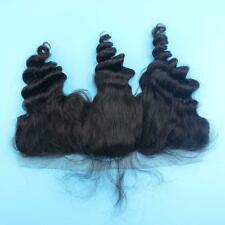 BRAZILIAN LACE FRONTALS 13X4 Ear To Ear LOOSE WAVE 12 Inch 8A SAME DAY FAST SHIP