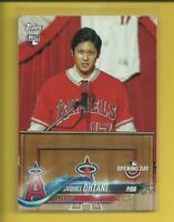 Shohei Ohtani RC 2018 Topps Opening Day Rookie Card Los Angeles Angels Baseball