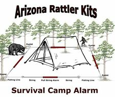 "Survival Camp Alarm ""EARLY ALERT INTRUDER WARNING "" emergency hunting camp hike"