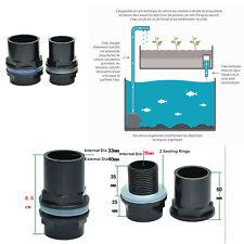 Passe-Parois de 32 mm - Pour Aquaponie