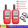 2X PMR446 Retevis RT665 Walkie Talkies 16CH 2-Way Radio Long Range Scan+Earpiece