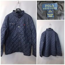 Polo Ralph Lauren Women's Navy Quilted Jacket XL 18 - 20