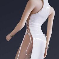 "Custom 1/6 Female Dress Cheongsam Skirt Model Set Fit 12"" PH Figure Toy Leather"