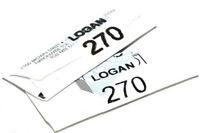 LOGAN 270 CUTTER BLADES PACK OF 20 - 2000 424 301-1 450 MOUNT CUTTER FRAMES
