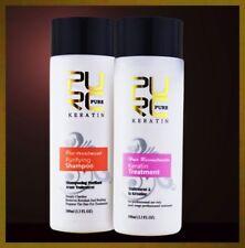 KERATIN 5% Hair Treatment Brazil Straightening Lissage Repair Set 2x100ml+Tools