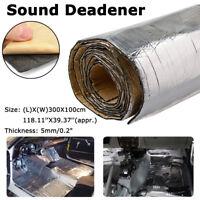 32sqft mousse acoustique voiture auto-adhésif insonorisation isolation300X100cm