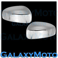 Triple Chrome Plated Mirror cover a Pair for 2013-2015 Nissan Pathfinder 13-15