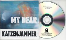 KATZENJAMMER My Dear 2015 UK 1-track promo test CD