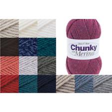 James C Brett Chunky With Merino Yarn 100g Ball Knitting Yarn Knit Craft