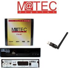 M@tec FTA 007 HD DVB-S2 Sat-Receiver | HDMI & SCART | WLAN USB Stick
