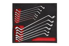 Wurth zebra véritable à double extrémité boîte clé assortiment toolsystem