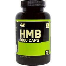 NEW HMB OPTIMUM NUTRITION ANABOLIC SUPPLEMENT 1000 mg CAPS 1000MG 90 CAPSULES