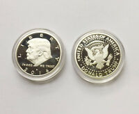 2016 US President Donald Trump Campaign Silver EAGLE Commemorative Novelty Coin