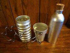 New Swiss Volcano Canteen Cooker 3 Piece Set Aluminum